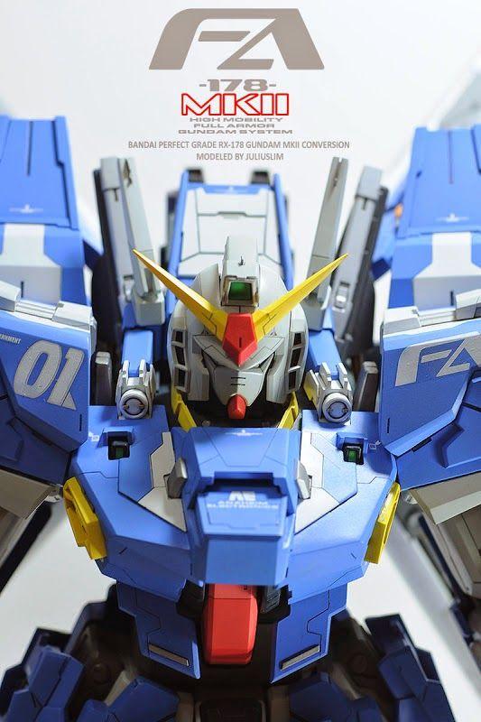"PG 1/60 RX-178 Gundam Mk. II ""Full Armor Custom"" Customized Build - Gundam Kits Collection News and Reviews"