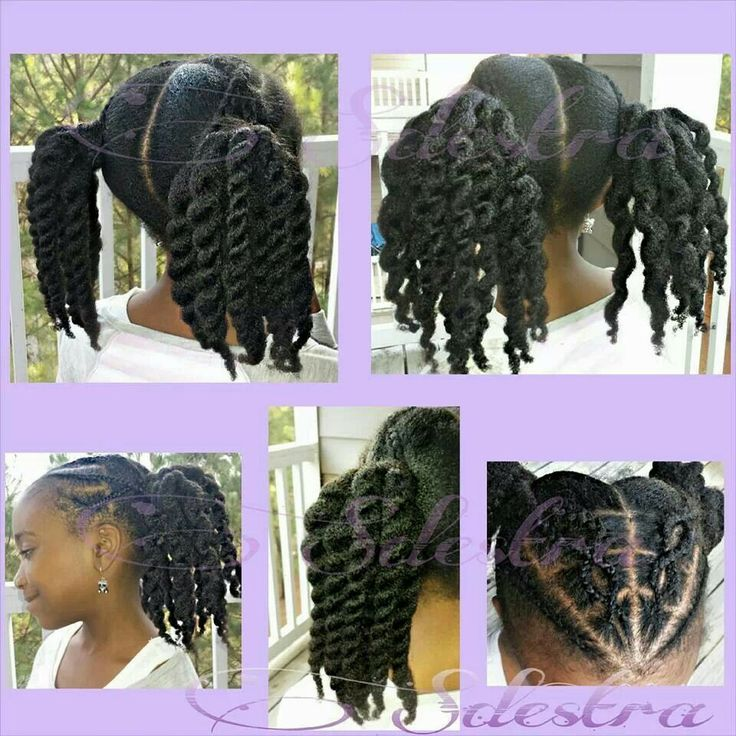 Surprising 1000 Images About Natural Kids Twists On Pinterest Protective Short Hairstyles For Black Women Fulllsitofus
