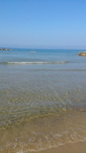 The wonderful sea on PratoRanieri, Follonica, Grosseto, Tuscany