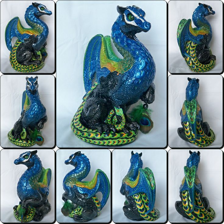 Peacock Passion is 2nd of 2 painted in this color scheme Painted by Branzyboo (Brandy Hlady) (For Sale)