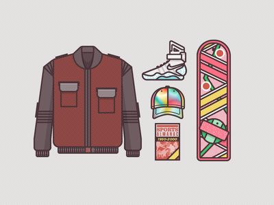 McFly Gear 2015 | Illustrator: Ryan Putnam