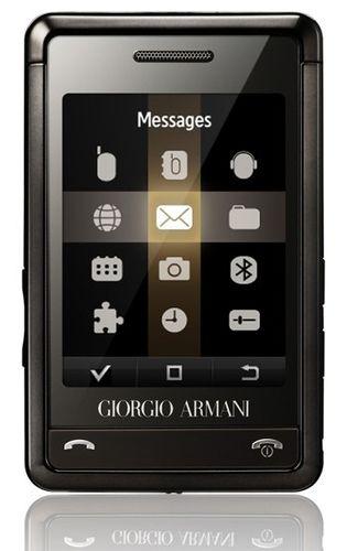 Giorgio Armani Samsung luxury mobile phone