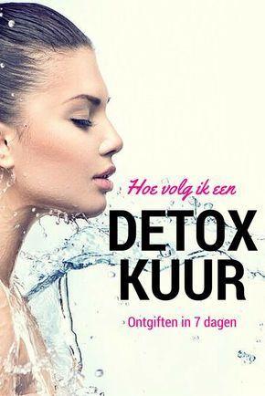Hoe volg ik een detox kuur? Ontgiften in 7 dagen, check nu: #detox #afvallen #gezond: easy #detox