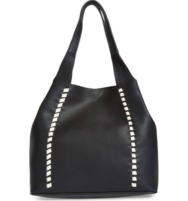 Main Image - French Connection Del Faux Leather Tote