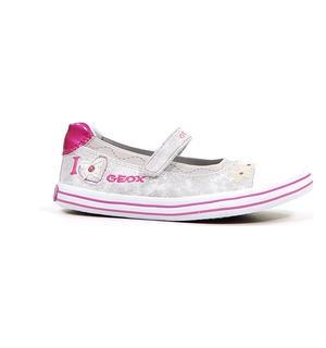 Geox Grijze Schoenen met Velcro