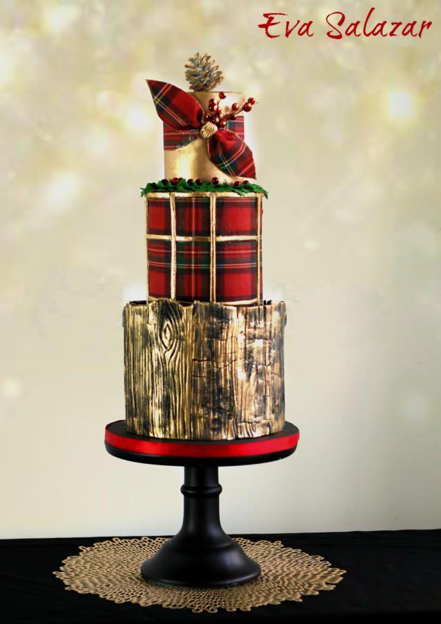 First Christmas Cake of the seasson!! by Eva Salazar