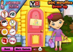 DoctoraJuguetesJuegos.com - Juego: Vestir Doctora Juguetes - Minijuegos de Doc Juguetes Disney Jugar Gratis Online