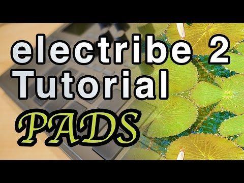 Korg electribe 2 tutorial   Pads - YouTube