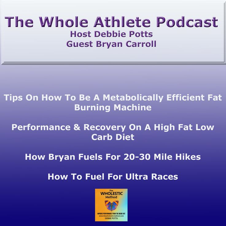 A Low-Carb Diet for Athletes?