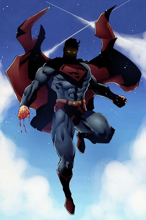 Jim Lee's Superman by ~Hitotsumami