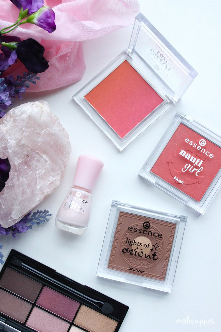 Have you tried any Essence cosmetics before?? They have amazing, affordable blushes, nail polishes, eyeshadows and bronzers that won't break the bank...
