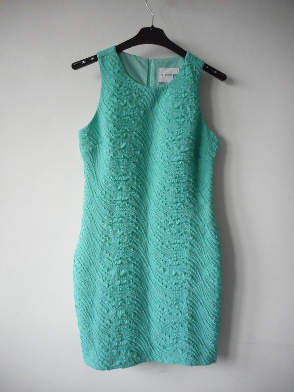 565d6a6cd5 Asos Petite sukienka miętowa ołówkowa r. 40 - vinted.pl