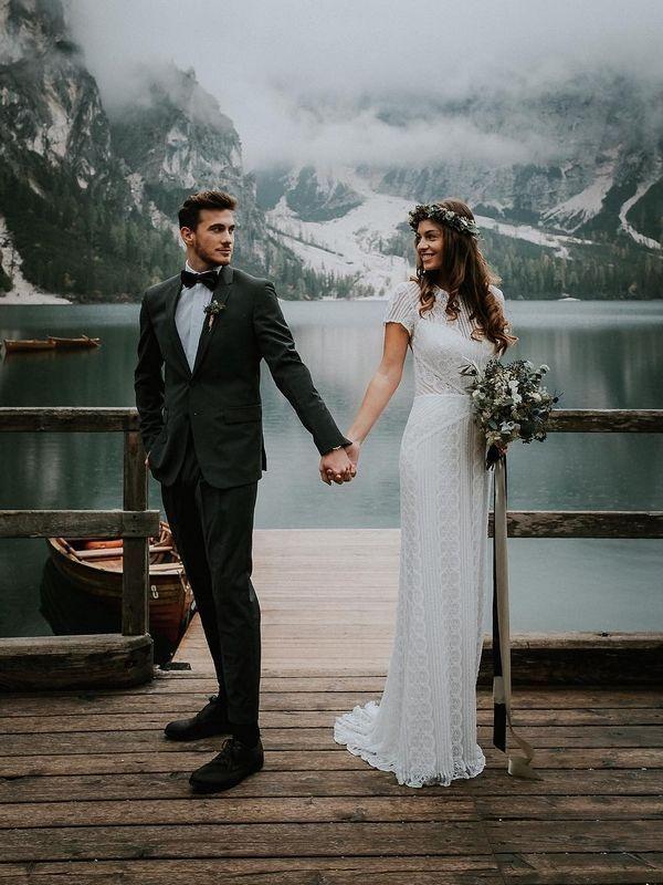 Wasser-Strand, Meer und See Hochzeit Fotoideen #Hochzeiten #weddingphotos #Hochz…