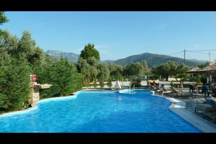 Hotel Zafira, Thassos, Greece  (my photo)