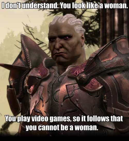 Dear Sten: A gamer, as well as a warrior, can also be a girl. Love, Every Girl Gamer.