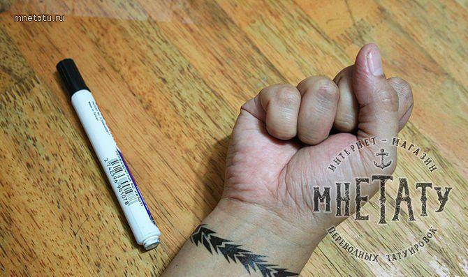 временные тату, переводные тату, переводные татуировки, как сделать временное тату, тату с помощью гелевой ручки