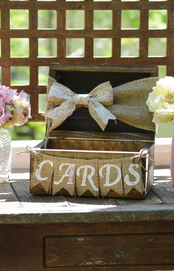 Best 25 Wedding card boxes ideas – Wedding Card Box Alternatives