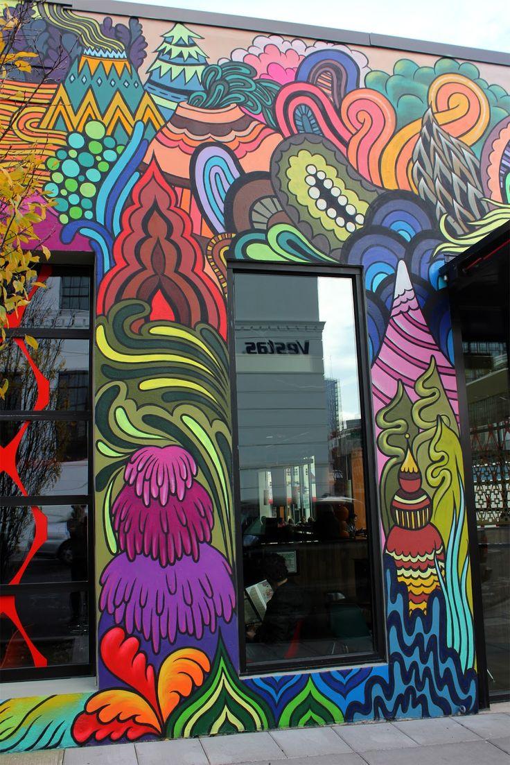 RATHER SEVERE: Mellow Mushroom Portland   street art ...