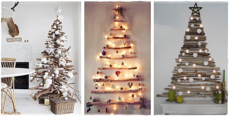 Árboles de Navidad para espacios pequeños. Decoración Navidad.