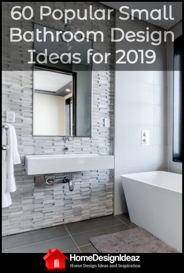 60 Most Popular Small Bathroom Design Ideas For 2019 In 2020