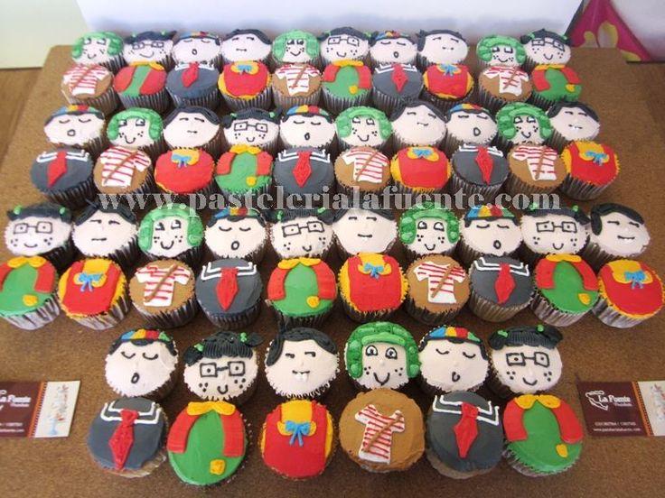 Chavo del Ocho cup cakes