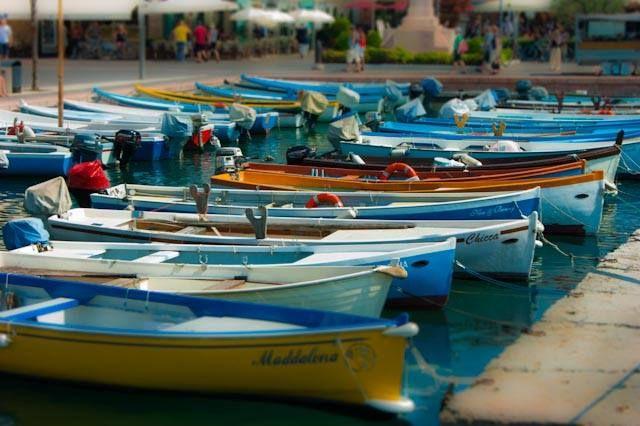 8 Le Barche Del Garda Lazise Verona Veneto Foto Di Manuel