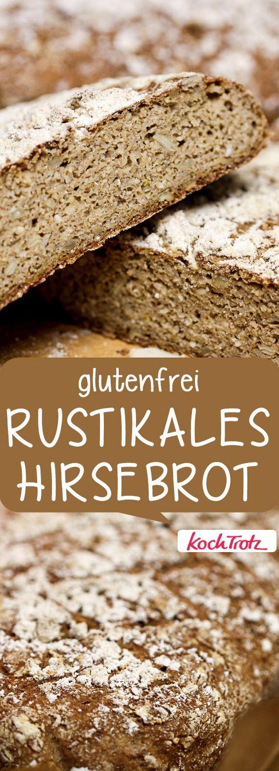 Glutenfreies, saftiges Hirsebrot mit vielen Varianten | auch für Backanfänger geeignet