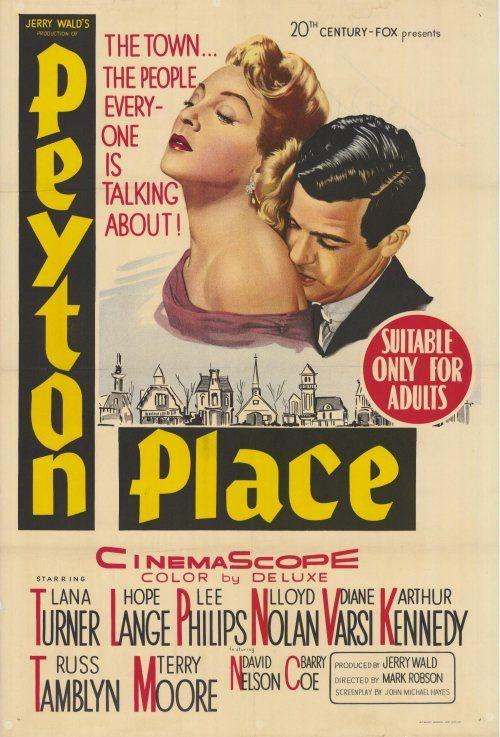 Peyton Place love this film & would love to see the television show which if I remember launch Ryan Oneal & Mia Farrows careers