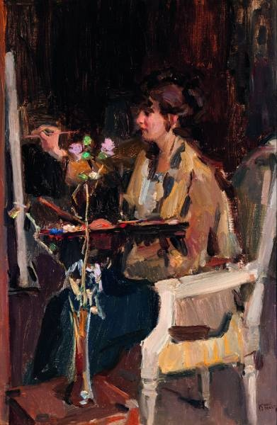 poboh: Painters at work, Isaac Israels. Dutch (1865 - 1934)