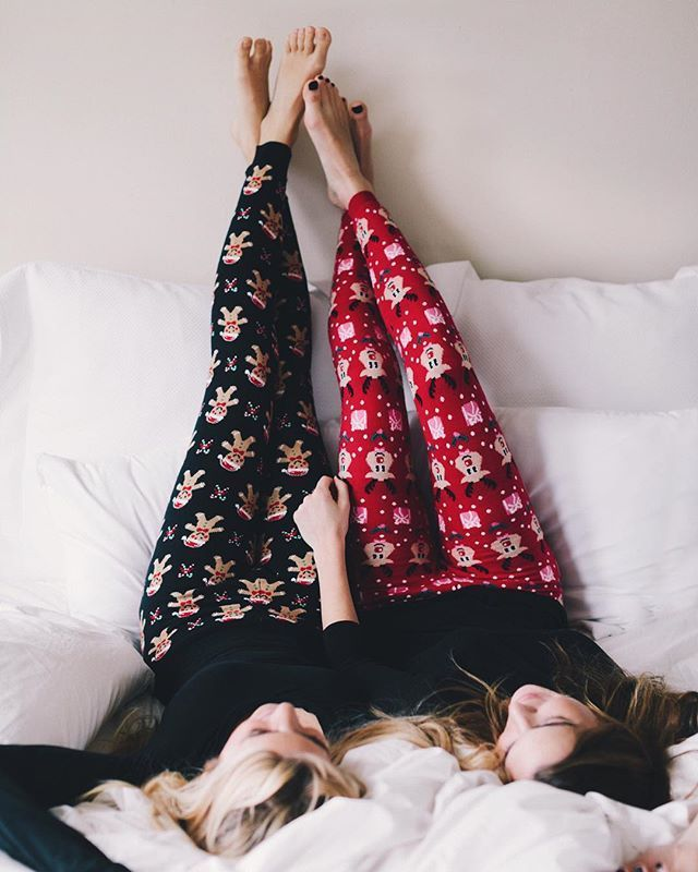 Christmas pajamas!