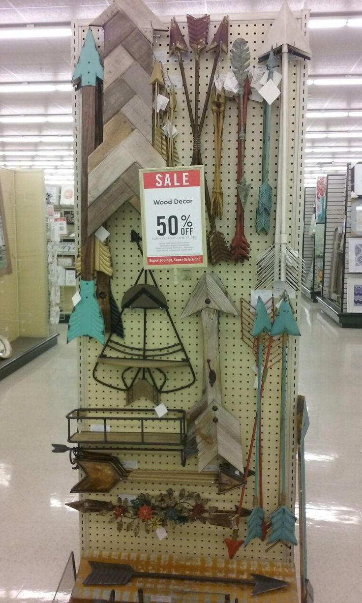 50 off hobby lobby woodland boho theme arrow wall accents for Bathroom decor at hobby lobby