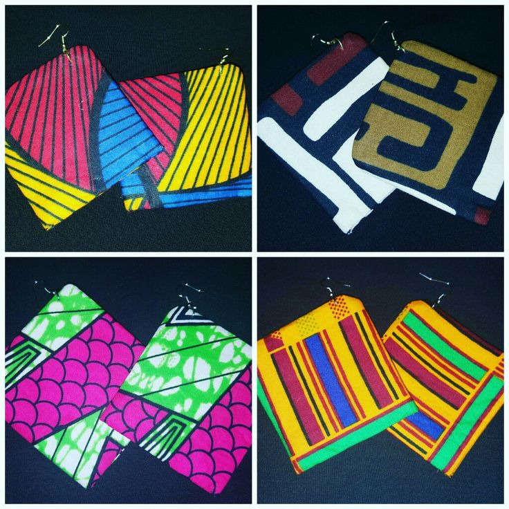 KWD Fabric Earrings. Available at www.kristenawitherspoon.com  #bigearrings #fabricearrings #earrings #jewelry #accessories