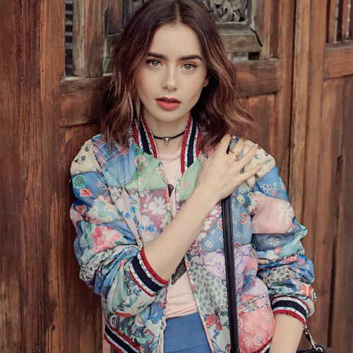 lily collins for instyle magazine (2017 march)
