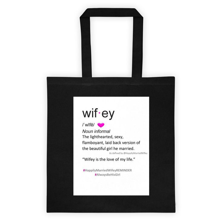 Wifey Definition Tote bag