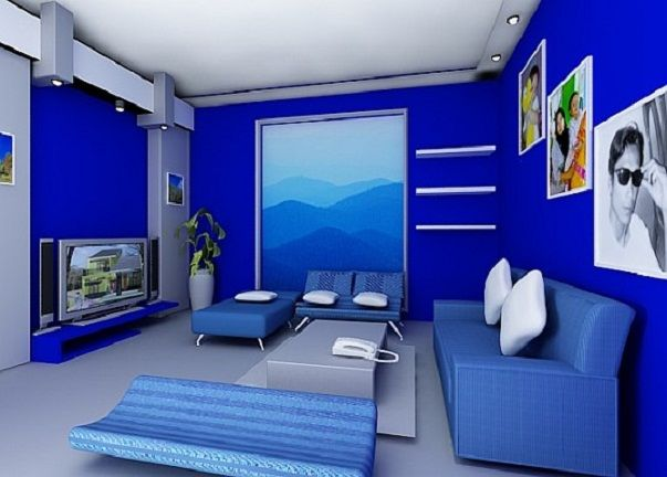 Modern Living Room Blue 588 best modern living room design images on pinterest | living