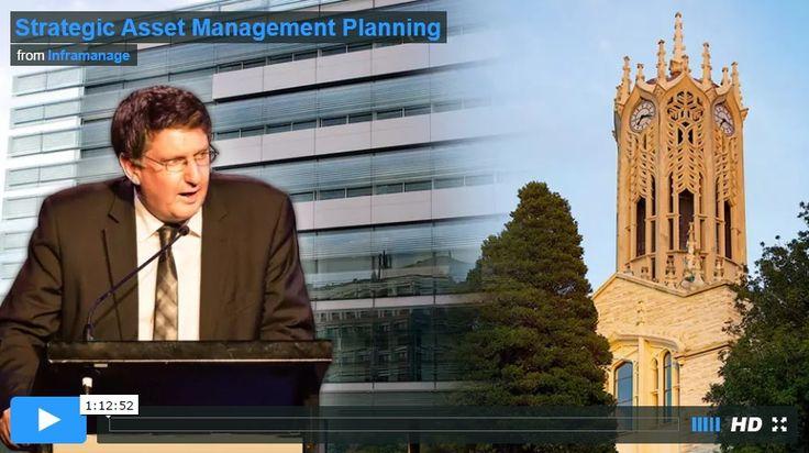 Strategic Asset Management Planning (Video)