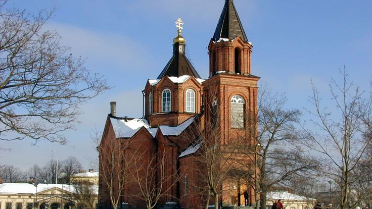 Pyhän Nikolaoksen kirkko Vaasan Kasarmintorilla.Hans-Mikael Holmgren / YLE