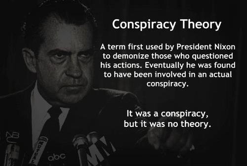 how to become a conspiracy theorist