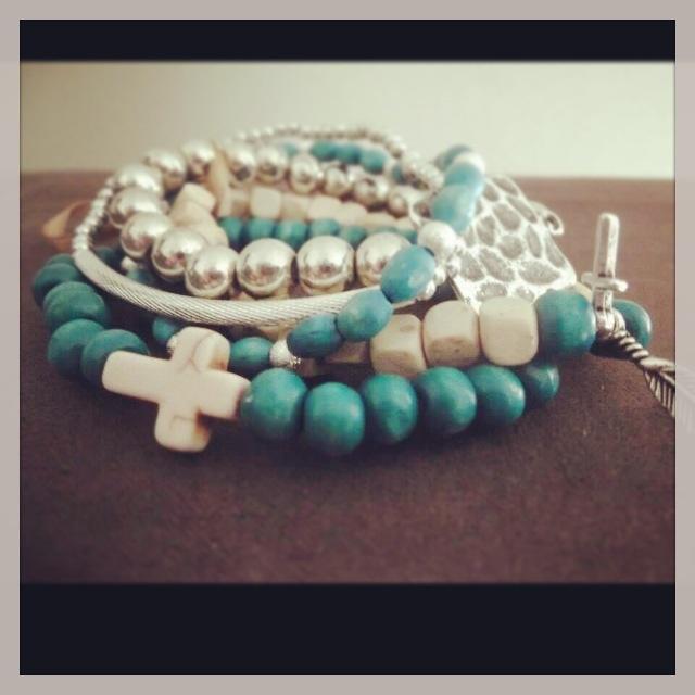 Handmade bracelets! Boho.  Amanda Smith Handmade Jewellery