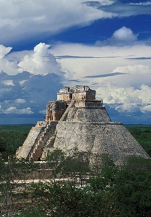 Town of Uxmal, Mexico