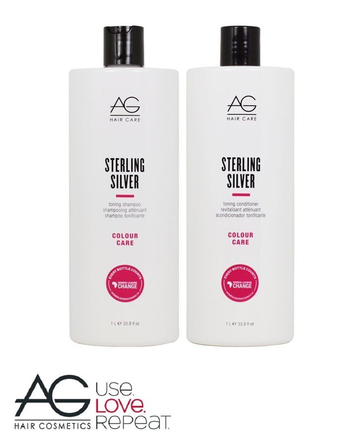 Shampoos and Conditioners: Ag Hair Care Sterling Silver Duo Shampoo And Conditioner 33.8 Oz W Free Samples!! -> BUY IT NOW ONLY: $46 on eBay!