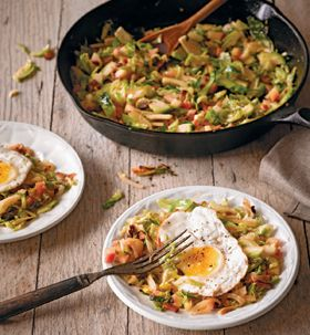 Chef Eric Ottensmeyer of Leon's Full Service - recipe for their Brussels sprout hash that I love so much!