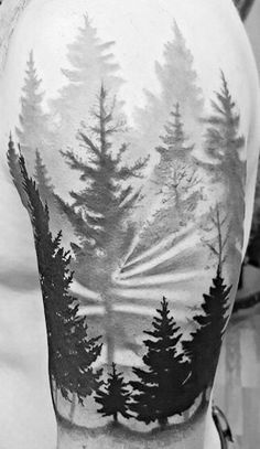 Forrest tattoo by Luis Garibaldo