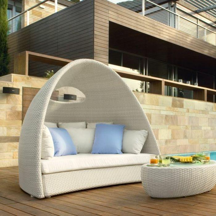 25+ Best Ideas About Polyrattan Sofa On Pinterest | Rattan Ecksofa ... Mobel Kollektion Rattan Garten Design