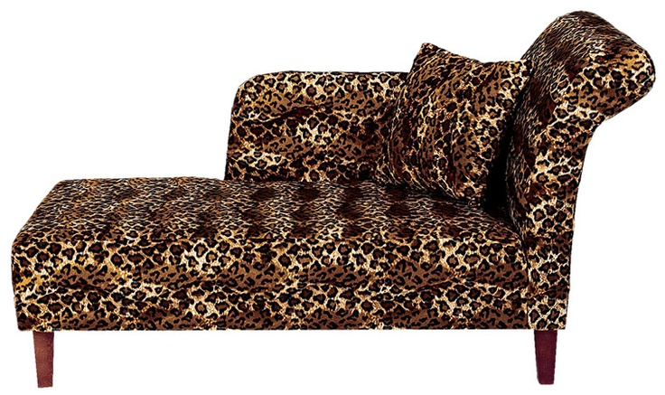 77 best chaises images on pinterest chairs for the home for Animal print chaise
