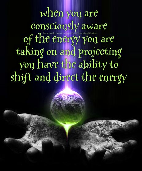 You are a being with consciousness and free will, giving you the ability to choose. Your awareness of your own energies and how it connects with others allows you to choose the direction of flow.