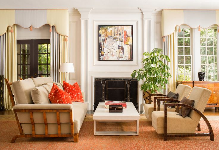 Beautiful interior design work by Darden Design Group. Photography by Jeff Roffman