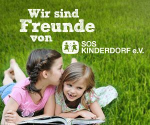 Since 2004 we support SOS Kinderdörfer as a sponsor and partner!      http://www.sos-kinderdoerfer.de