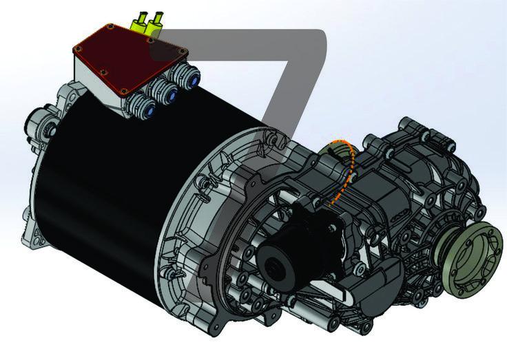 Visto en Isometrico de Motor & Transeje