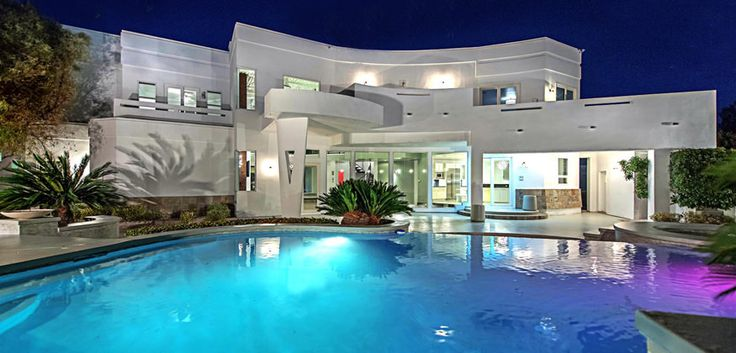 Mike Tyson's House (sold) - 1294 Imperia Dr, Henderson, Nevada 89052 #mansion #dreamhome #dream #luxury http://mansionhomes.co/dream/mike-tysons-house/